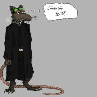 Trace is a rat by Xirany