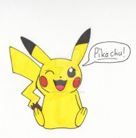 Pikachu! by Piplup88908