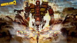 Borderlands 2 Wallpaper - D374-TP by mentalmars