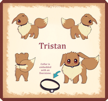 Tristan the Eevee ref. by RayFloret