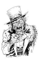 Uncle Sam inks by Dave-Acosta