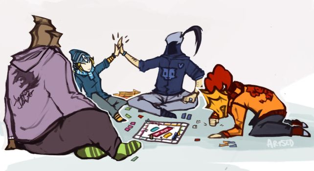Casual Monopoly by Artsed