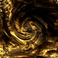 Abstract - Molten Gold by Silverhyren