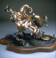 On The Move octopus sculpture by bronze4u