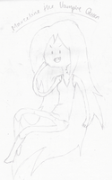 Marceline - Lineart by The-Ultimate-Hero