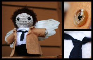 Castiel Amigurumi by fleetingdawn