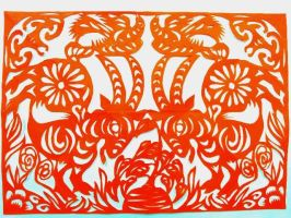 Paper Cutting by KvFantaisie