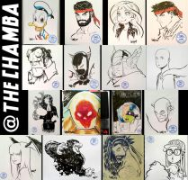 Supanova Melbourne 2017 - Commissions by theCHAMBA