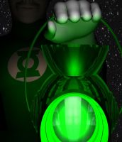 A Green Lantern by Tuffers-Art