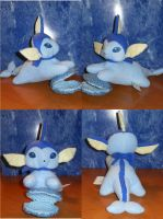 Cerulean The Vaporeon by PlushPrincess