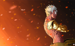 Asura Wrath by Kawa-V
