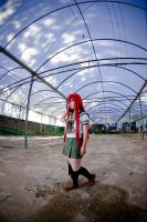 Shana searching for enemies by andyamasaki