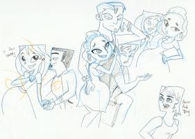 Total West Side Drama doodles by Kikyz