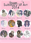 Summary of Art 2014 by Silverr-x