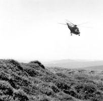 Helicopter on Dartmoor by Kimbell