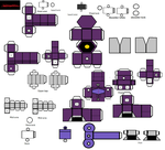 Lil Shockwave Papercraft by Lilscotty
