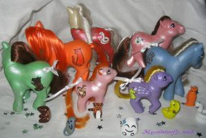 Fruba Custom Little Ponies 2 by mayanbutterfly