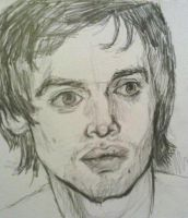 Brendon Urie Sketch by fightthesky