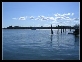 Wiscasset Harbor by SlateGray