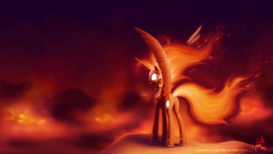 Angry Sun by JoelletheNose
