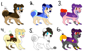 Adoptables NEW (closed) by Girratina