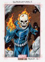 Ghost Rider - Marvel Bronze Age by tonyperna