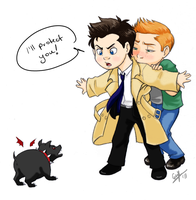 Dean's Guardian Angel by EndForEternity