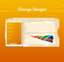 Orange Designs Template by kamal911