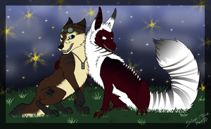 .:Karyssa and Jolon:. Contest Entry by Silver-TailedHawk