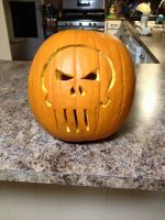 The Punisher Jack-o-Lantern 2015 by Annanious84