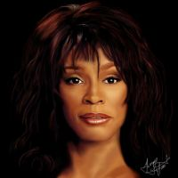 Whitney Houston by Shaytan666
