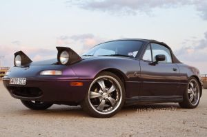 Mazda MX5 Eunos Roadster by Jenwhs