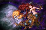 Epona and the birth of the two sisters by Ziom05