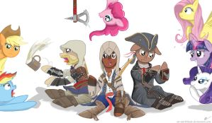 My Little Kenway Family by Mr-DarkBlade