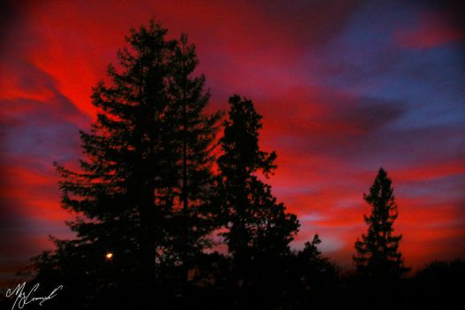 Sunset View from Church by the-shutterbug