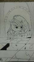 Smaug The Tiny Magnificent Coloring Page by StarInsomniac2009