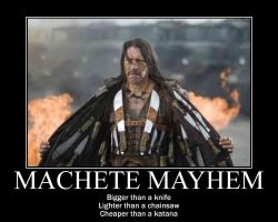 Machete Mayhem by Kersey475