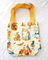 Retro Trick or Treat Tote by BoutiqueVintage72