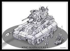 King Marmaduke I Tank by frAme01