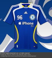 Chelsea FC Home Kit Jersey by Qugeist
