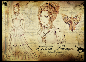 Tessa Gray by Miss-T-fy