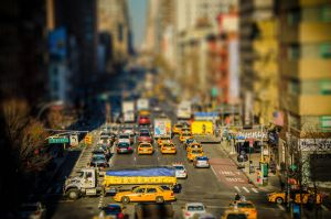 Tilt n Shift experiment by Ensoled