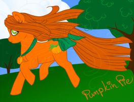 MLPOC: Pumpkin Pie by Masqueadrift