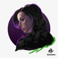 Jessica Jones by Ilustrandole