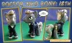 Introducing Peter Capaldi as The Doctor PONY! by HeyLookASign