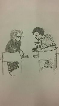 Talking :D by quietyoufiend