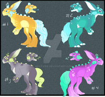 Trubbles Adopts 2 Left :open: set price added by Wolfvids
