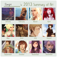 2013 Art Summary by Sangcoon