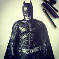The Dark Knight by Naizghi