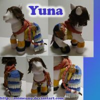 Gunner Yuna Pony by AnimeAmy